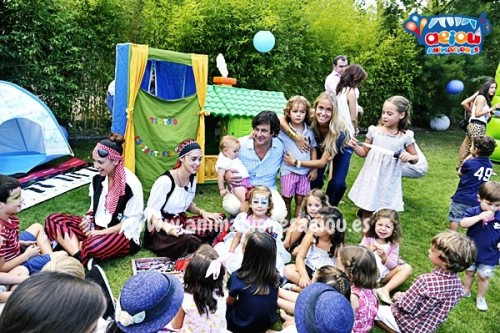 hire children's party entertainers in Barcelona
